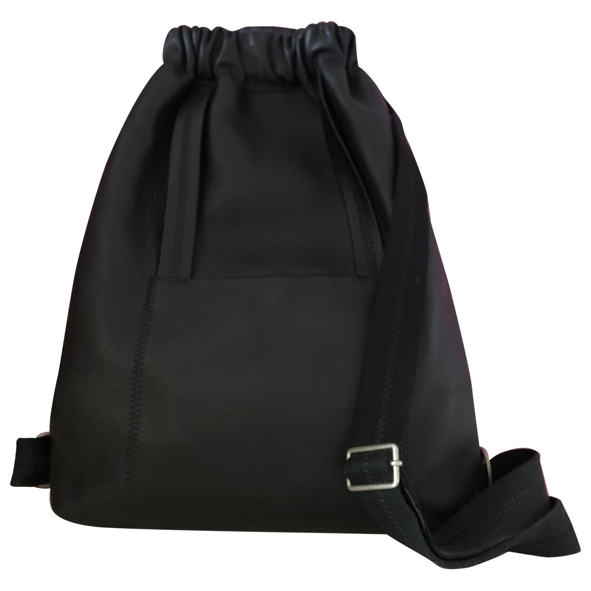 Maison Martin Margiela \N Black Leather backpack for Women \N