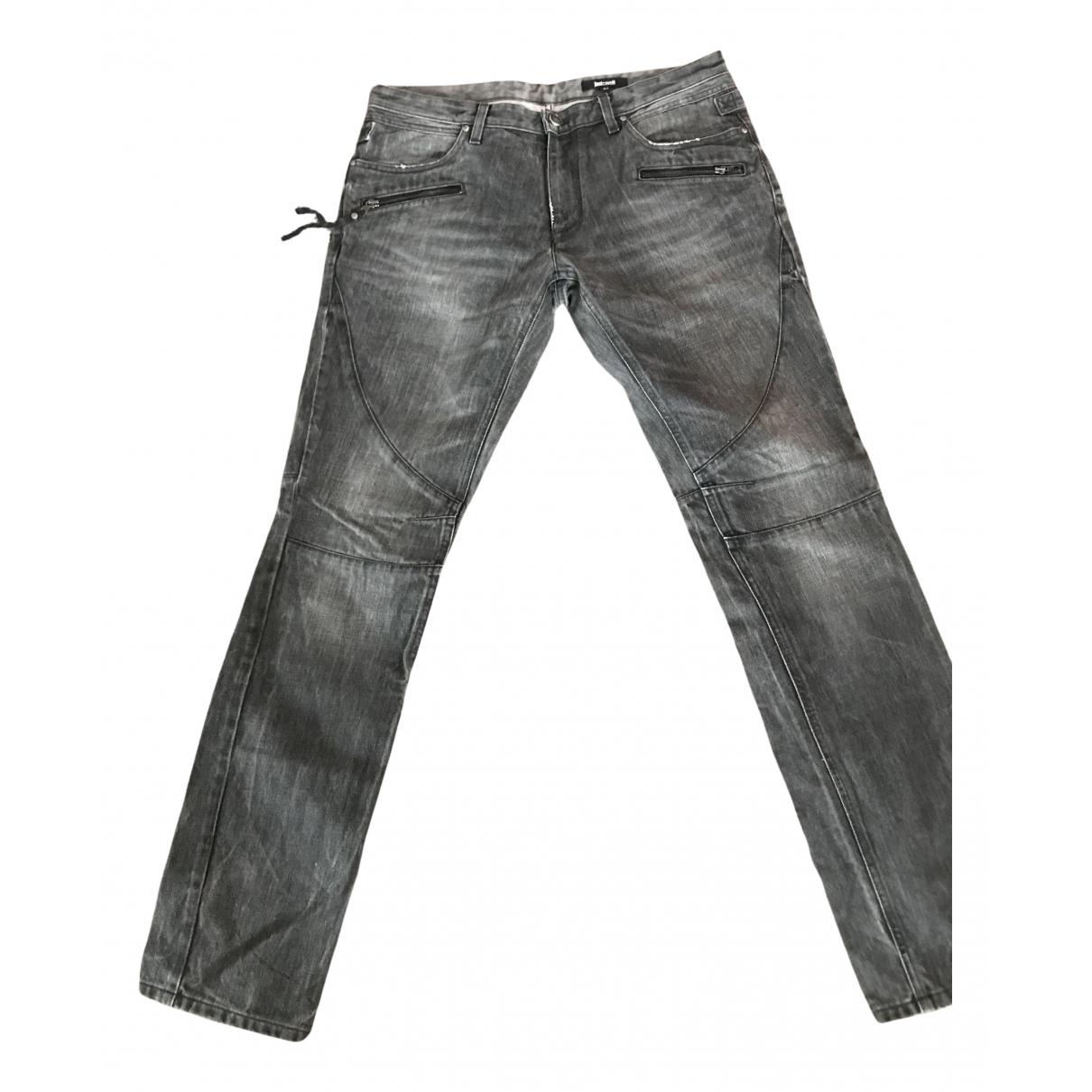 Pantalones en Denim - Vaquero Antracita Just Cavalli