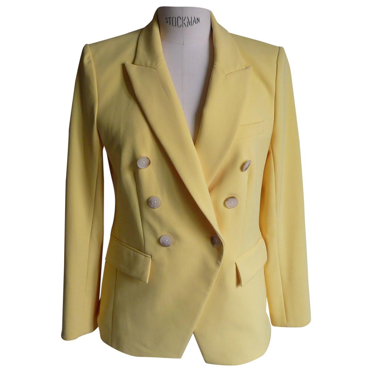 Veronica Beard \N Yellow jacket for Women 6 US