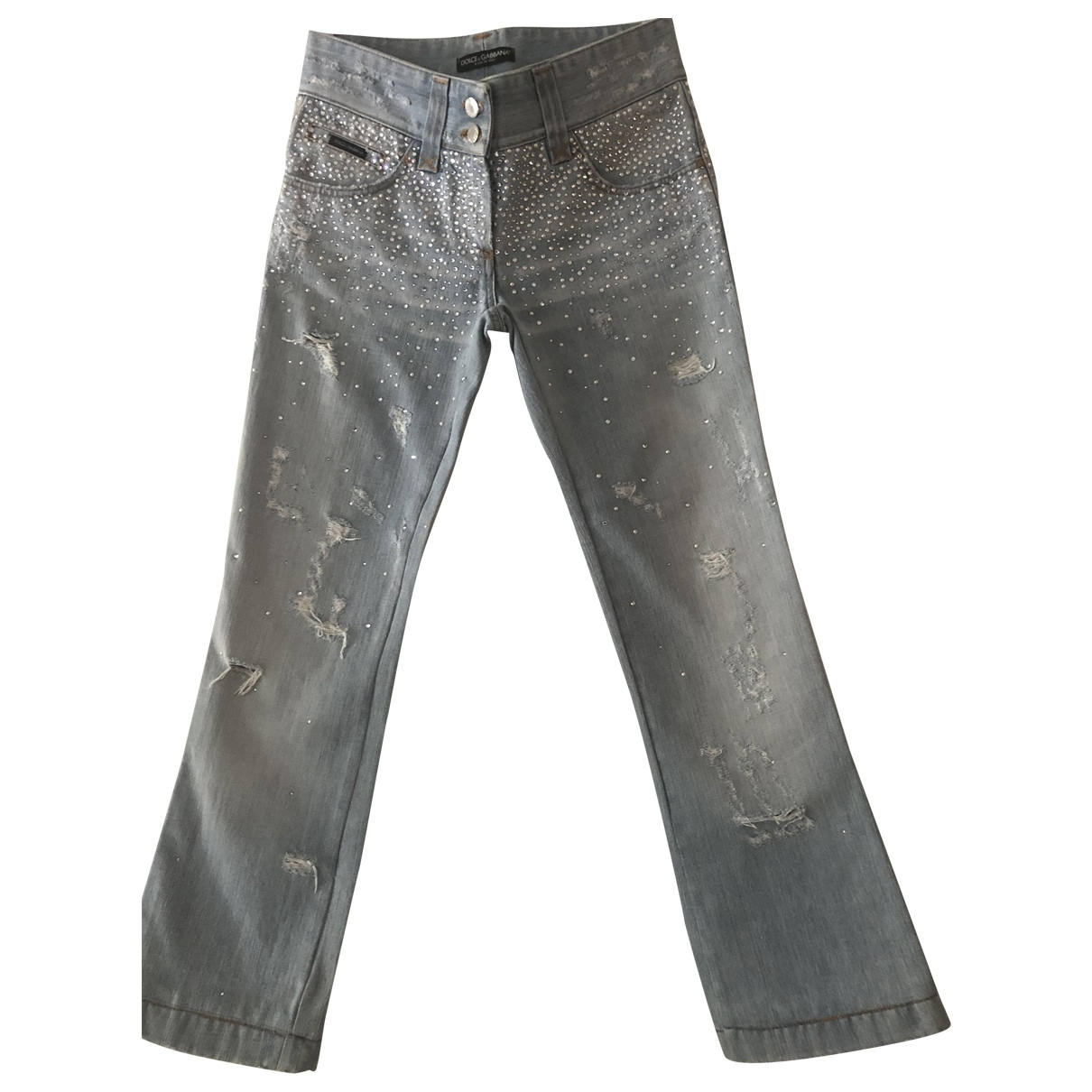 Dolce & Gabbana \N Blue Denim - Jeans Jeans for Women 40 FR