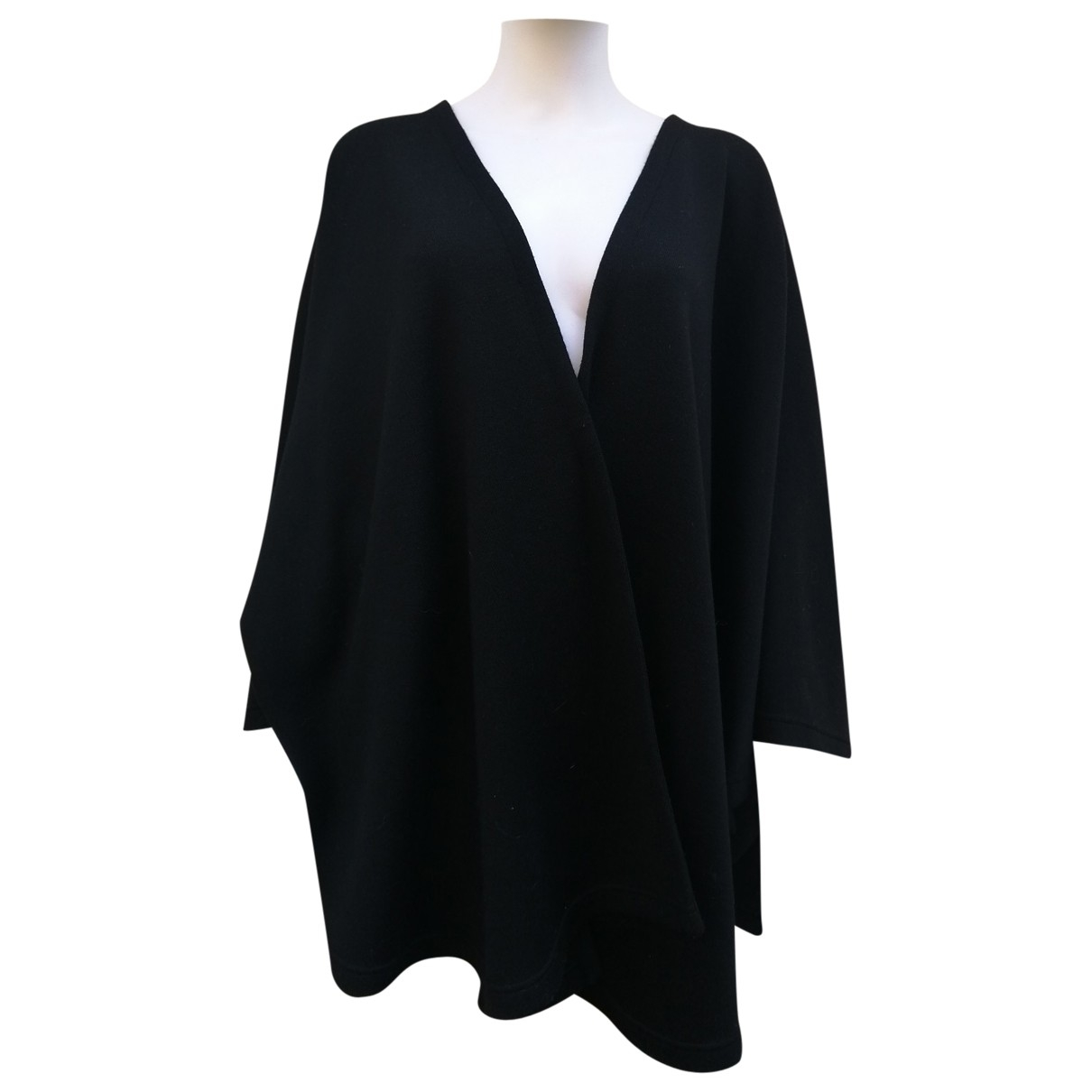 Bonpoint \N Jacke in  Schwarz Wolle