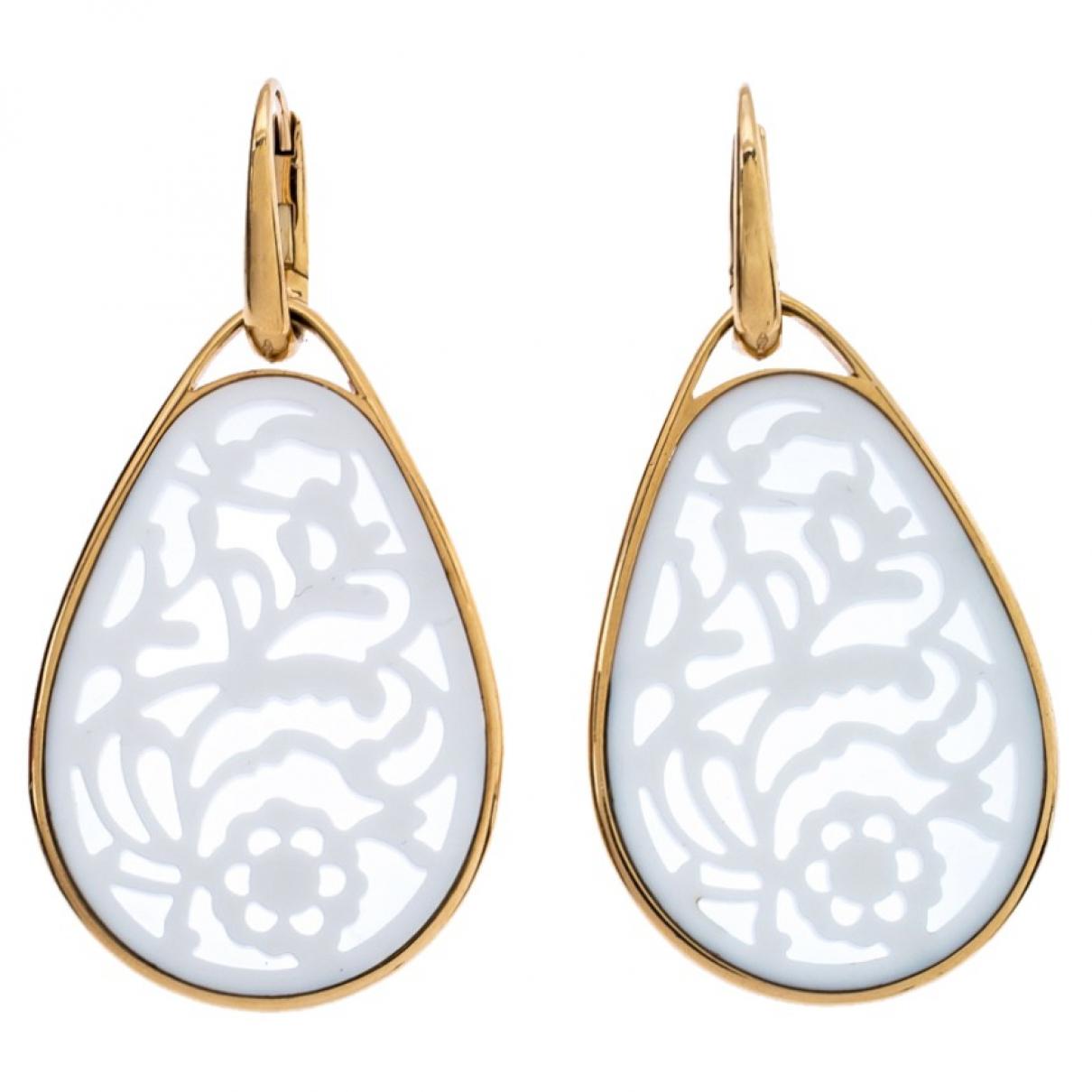 Pomellato - Boucles doreilles Victoria pour femme en or blanc - blanc