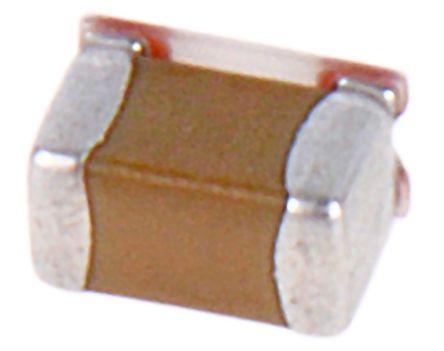 Murata , 0603 (1608M) 22μF Multilayer Ceramic Capacitor MLCC 6.3V dc ±20% , SMD ZRB18AR60J226ME01L (25)