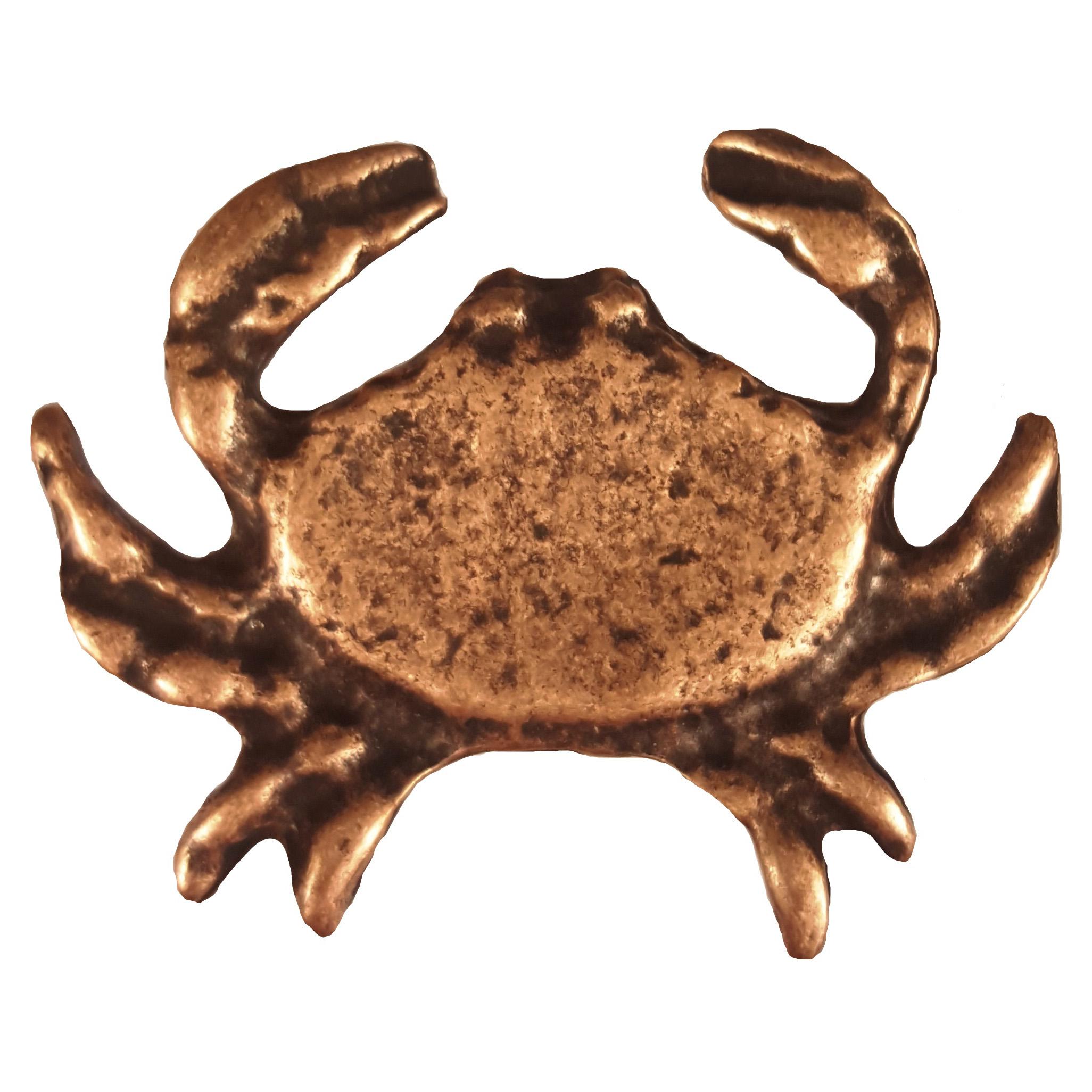 Sand Crab Pull, Antique Copper, Model 233AC