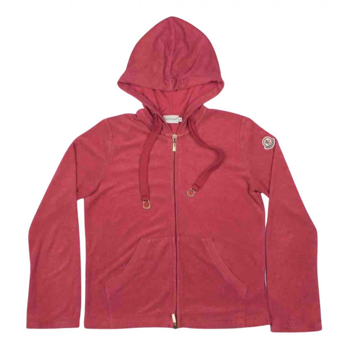 Moncler N Pink Cotton Knitwear for Women S International