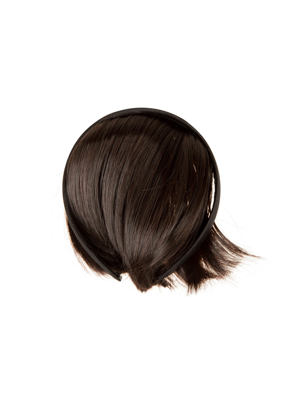 Kostuemzubehor Haarreif mit Pony Farbe: schwarz