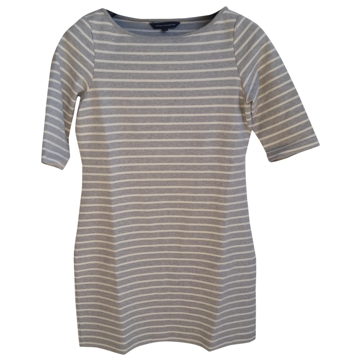 French Connection \N Grey Cotton dress for Women 40 FR