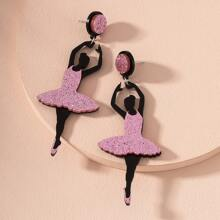 Dancer Girls Drop Earrings