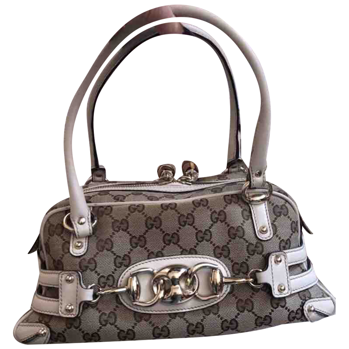 Gucci Boston Beige Cloth handbag for Women N