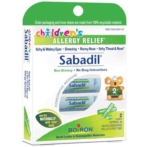 Childrens Sabadil Pellets 2 Tubes by Boiron
