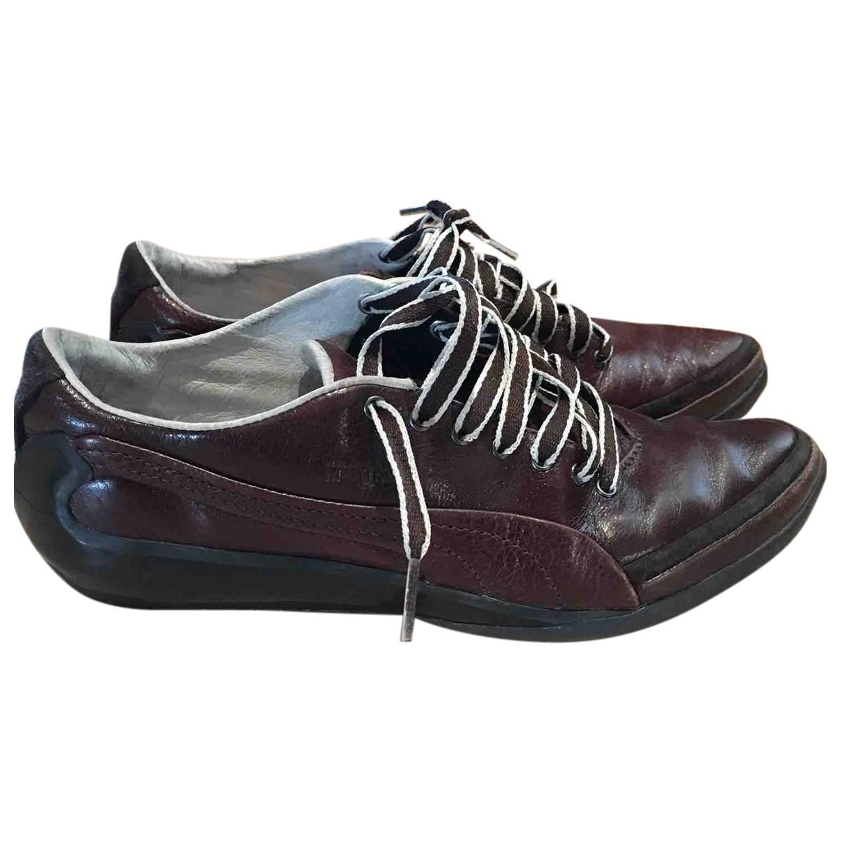 Alexander Mcqueen For Puma \N Sneakers in  Braun Leder