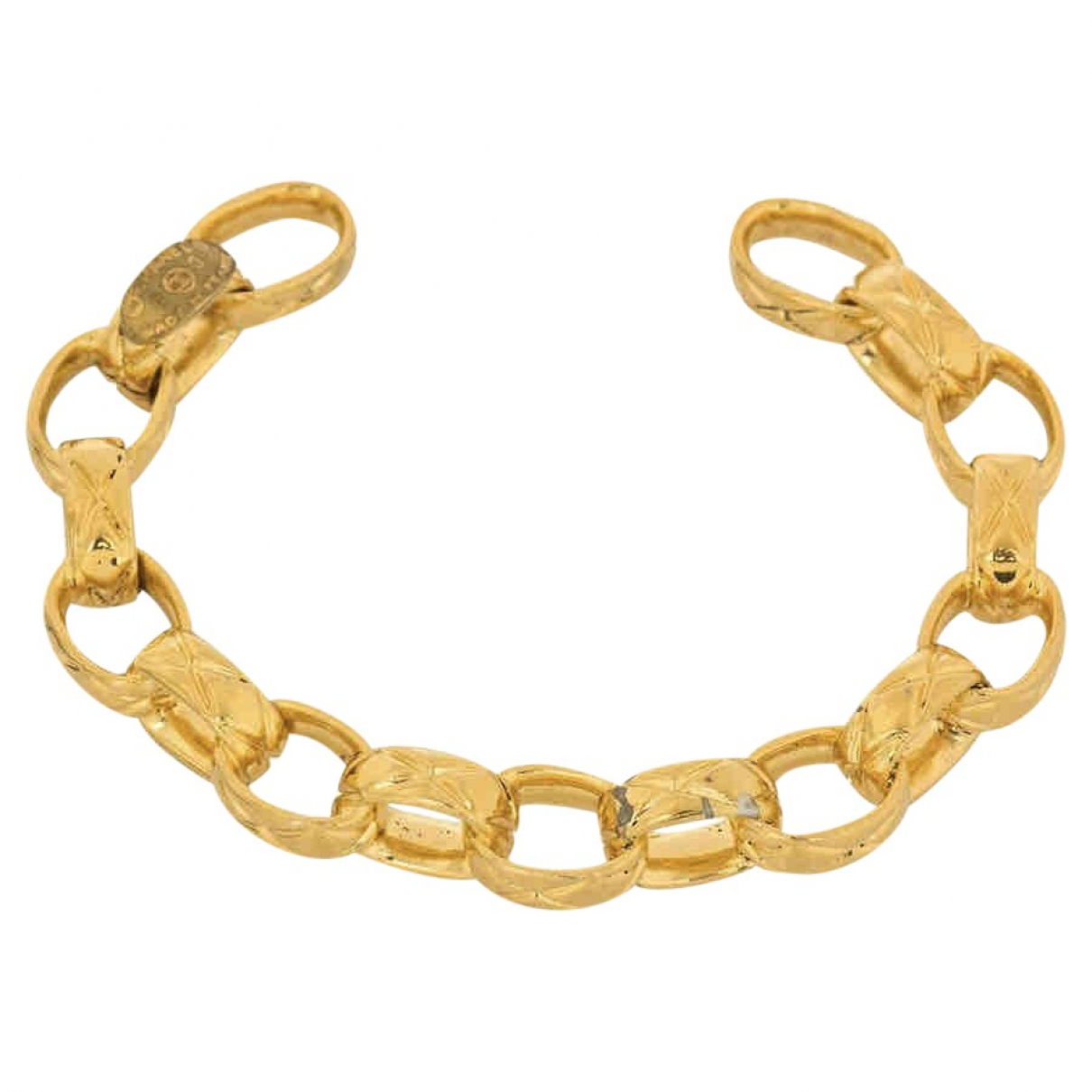 Chanel Coco Crush Armband in  Gold Metall
