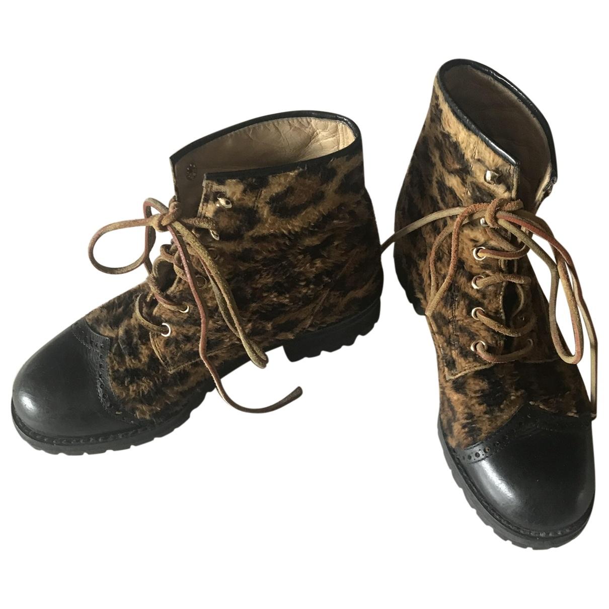Versus \N Multicolour Leather Boots for Women 38 EU