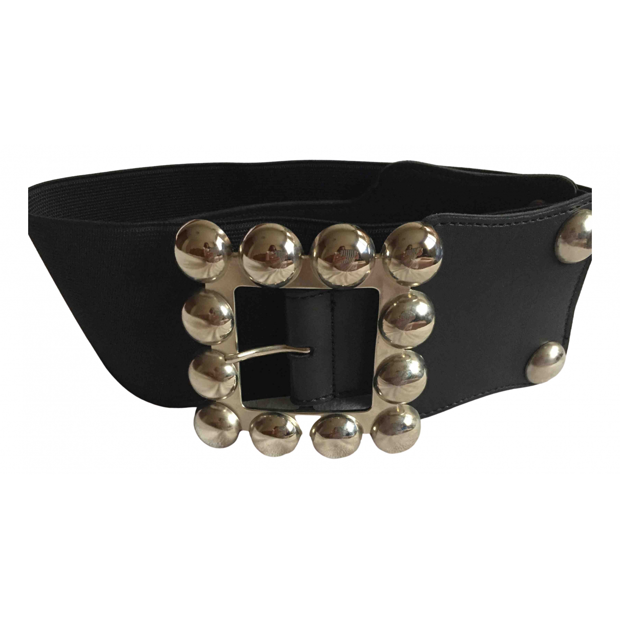 Georges Rech \N Black Leather belt for Women S International