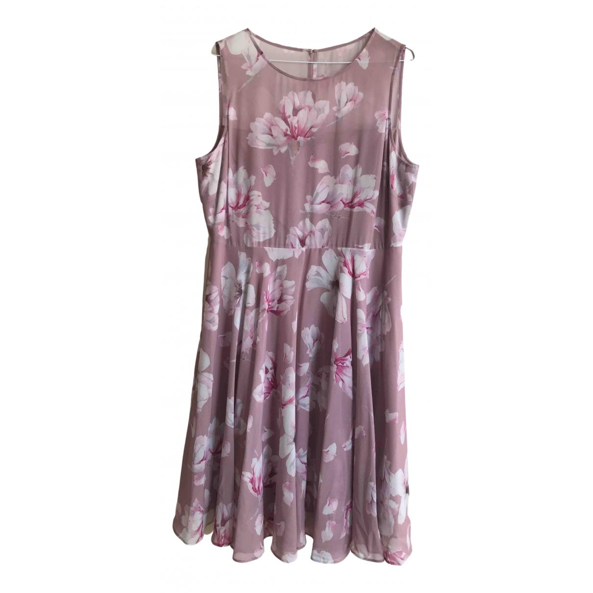 Hobbs \N Kleid in  Bunt Polyester