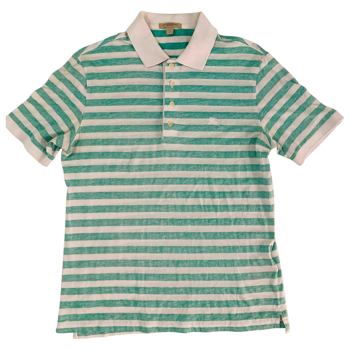 Burberry \N Green Cotton Polo shirts for Men S International