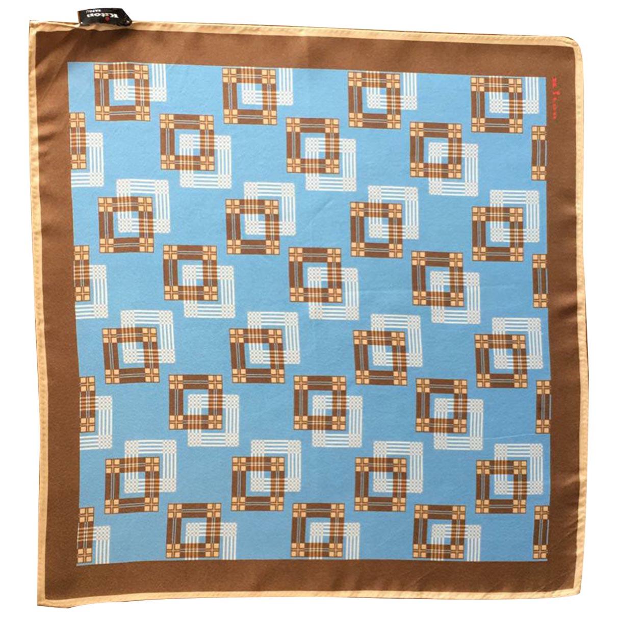 Kiton - Cheches.Echarpes   pour homme en soie - multicolore