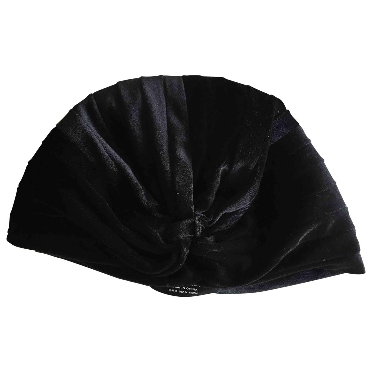 Zara - Chapeau   pour femme - noir