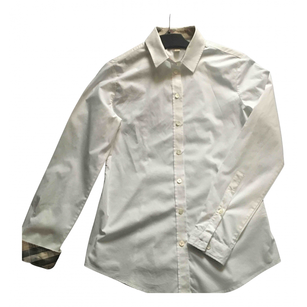 Burberry N White Cotton  top for Women 36 FR