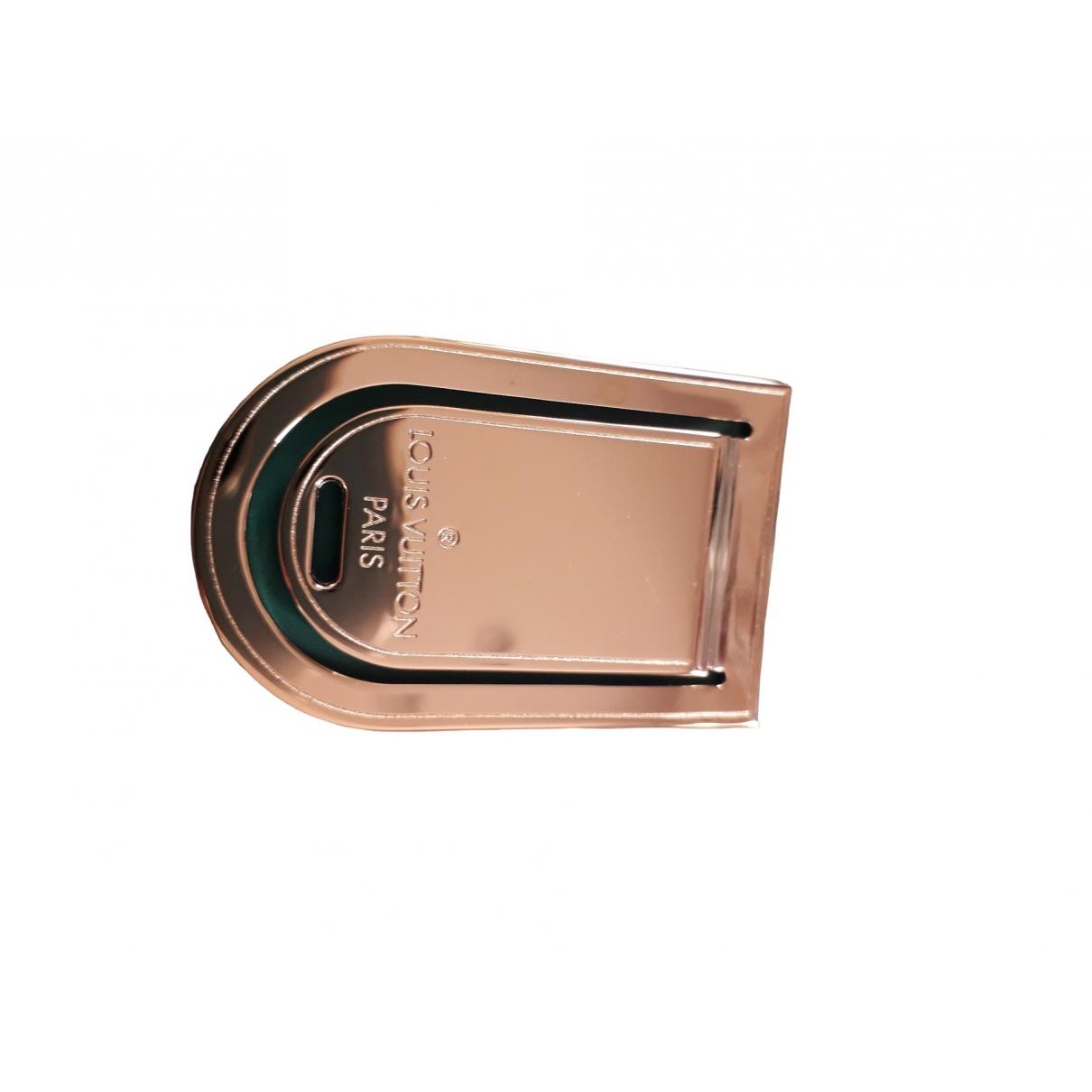 Louis Vuitton - Bijoux   pour homme en metal - dore