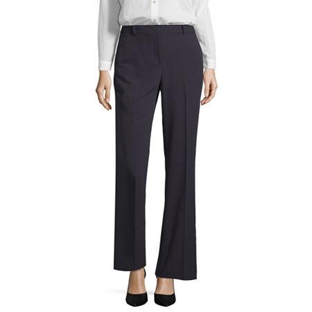 Liz Claiborne Sophie Secretly Slender Trousers, 6 , Blue