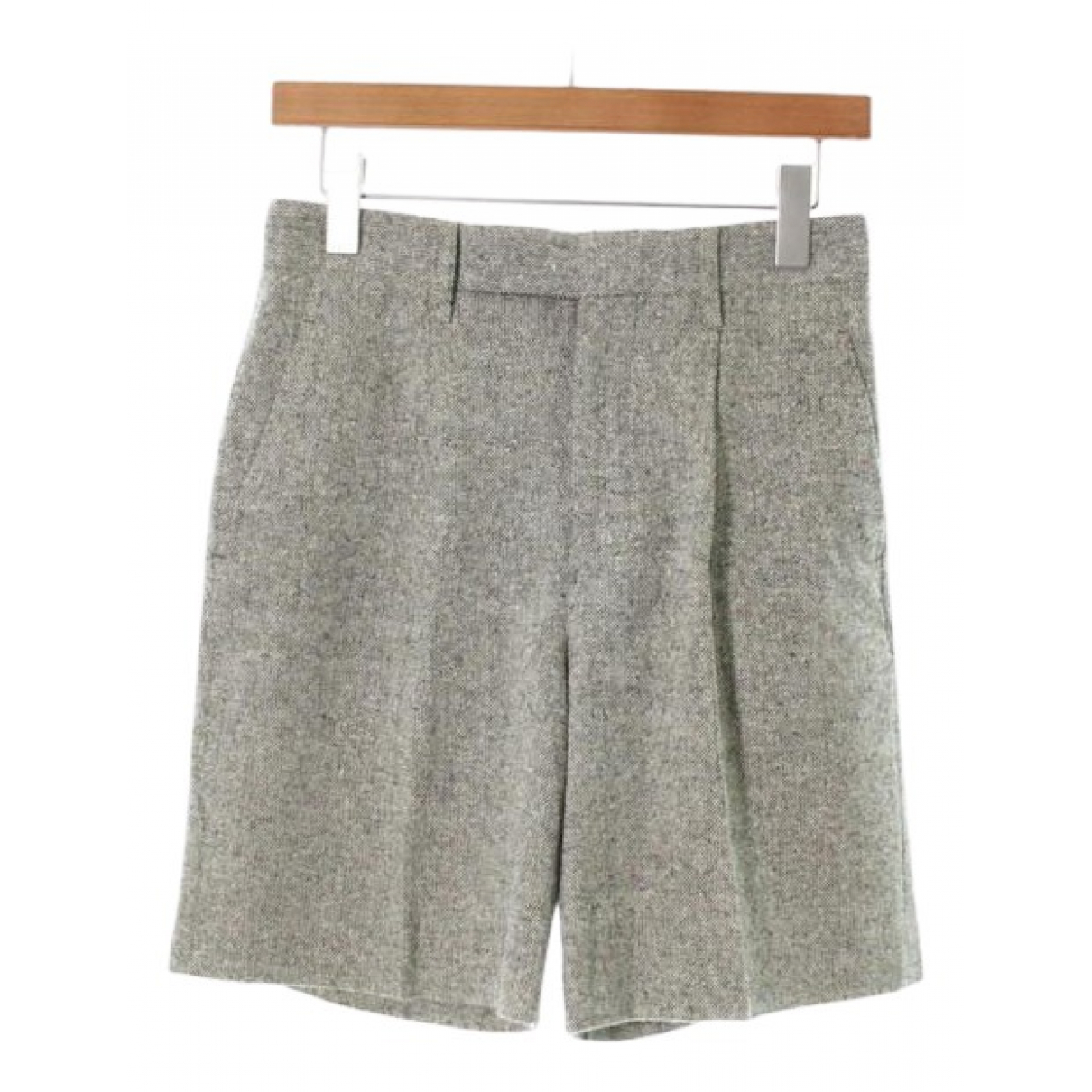 Comme Des Garcons \N Shorts in  Gruen Wolle