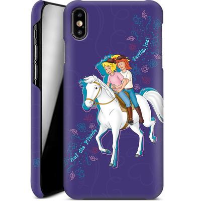 Apple iPhone XS Max Smartphone Huelle - Bibi und Tina Pferd von Bibi & Tina
