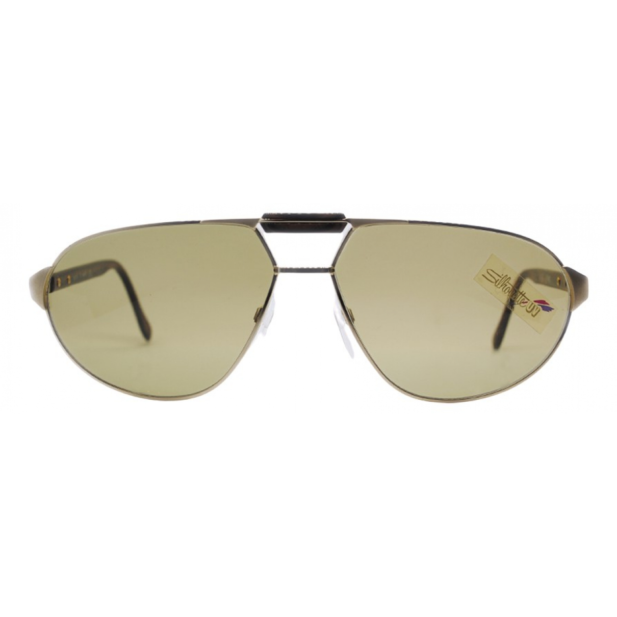 Silhouette N Gold Metal Sunglasses for Men N