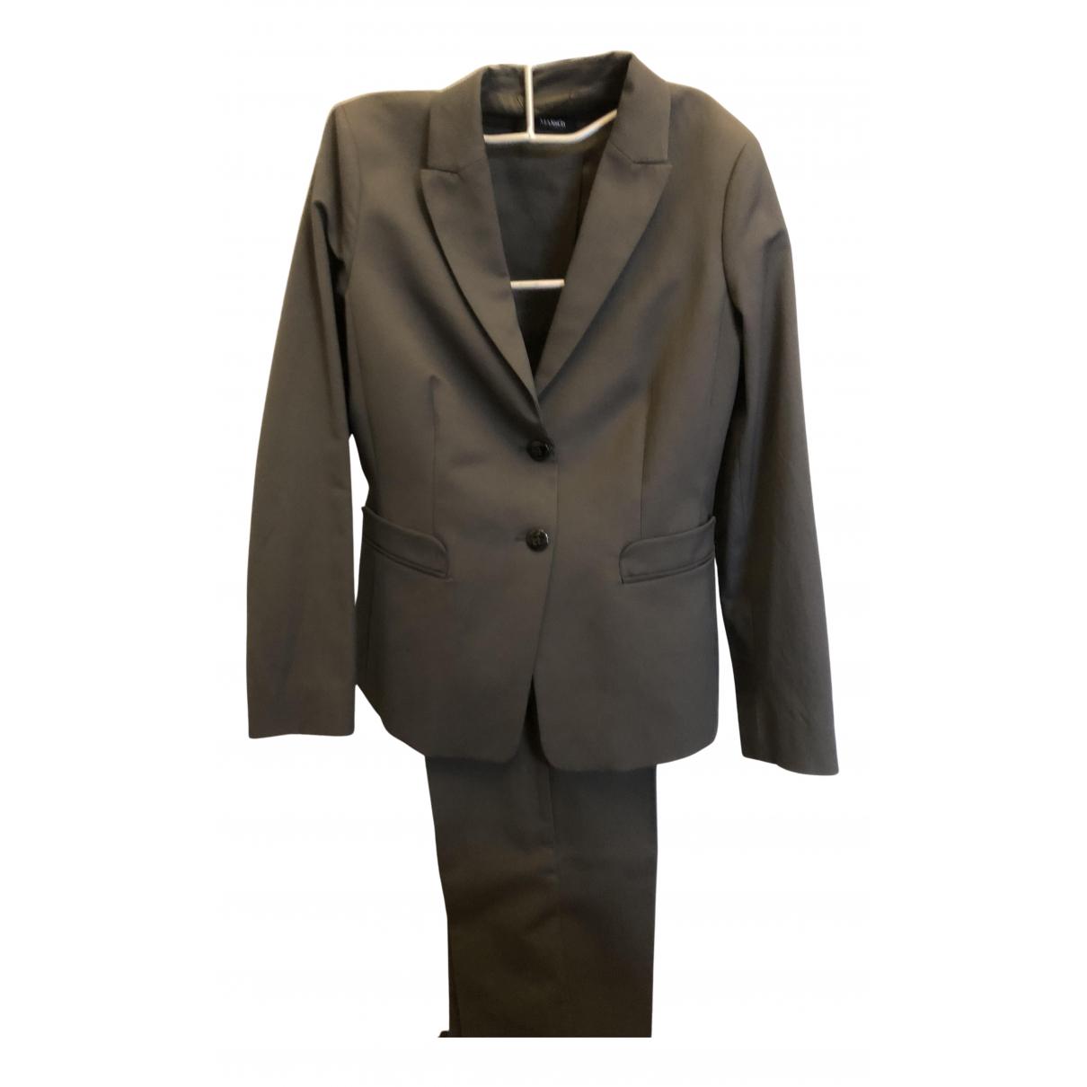 Max & Co - Veste   pour femme en coton - gris