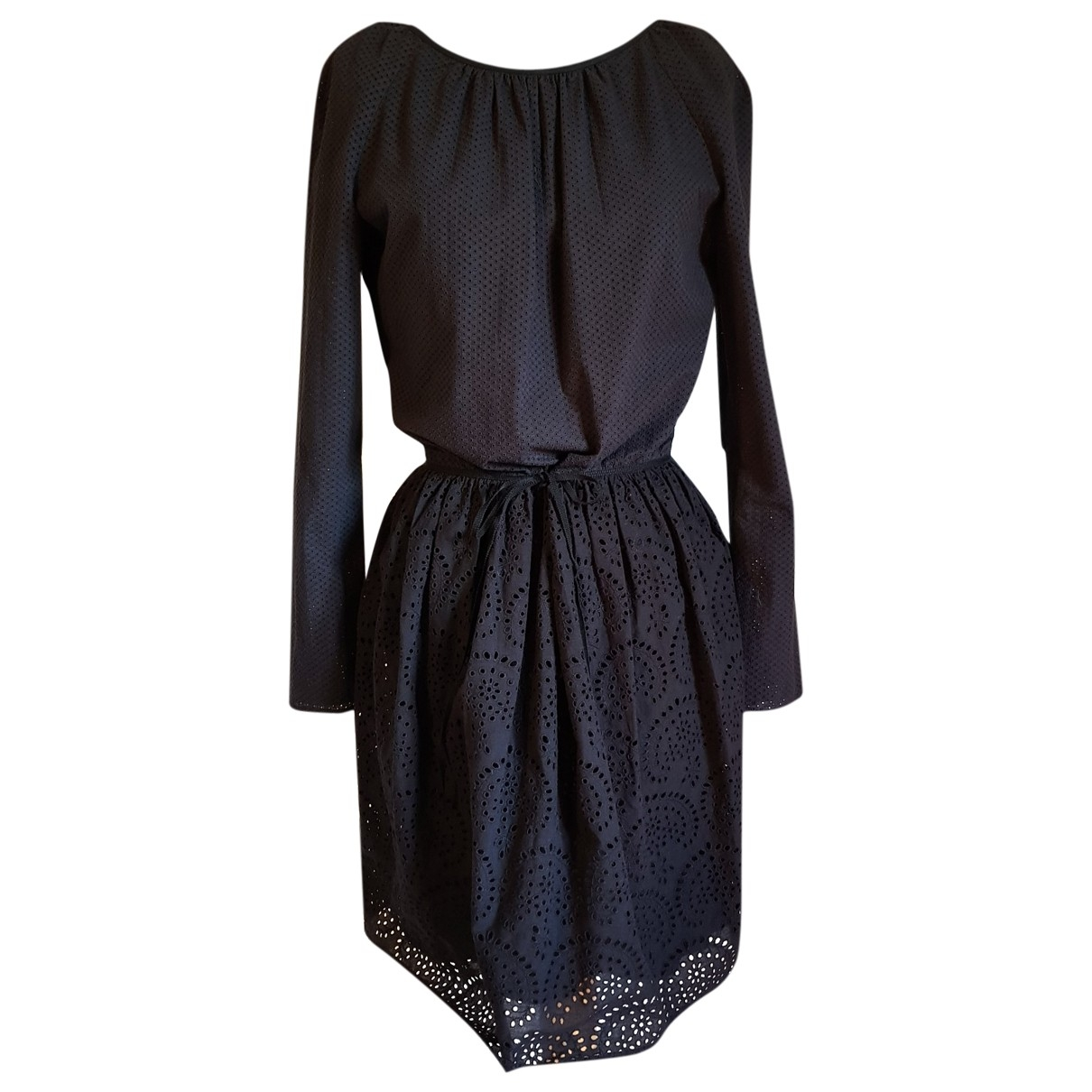 M Missoni \N Black Cotton dress for Women 36 FR