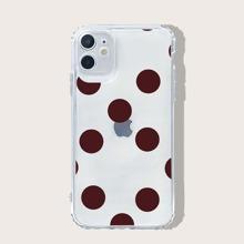iPhone Schutzhuelle mit Punkten Muster