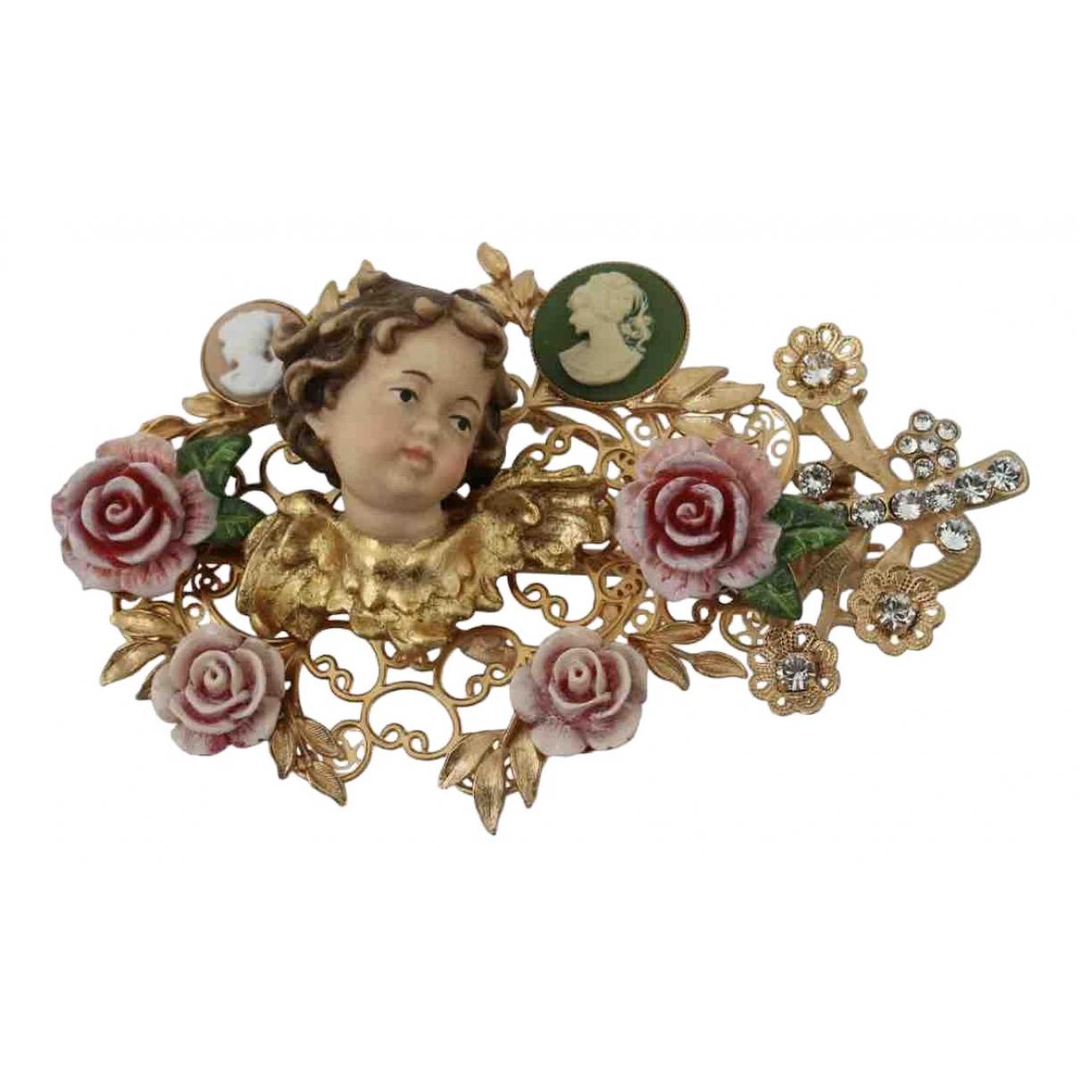 Dolce & Gabbana \N Multicolour Metal Hair accessories for Women \N