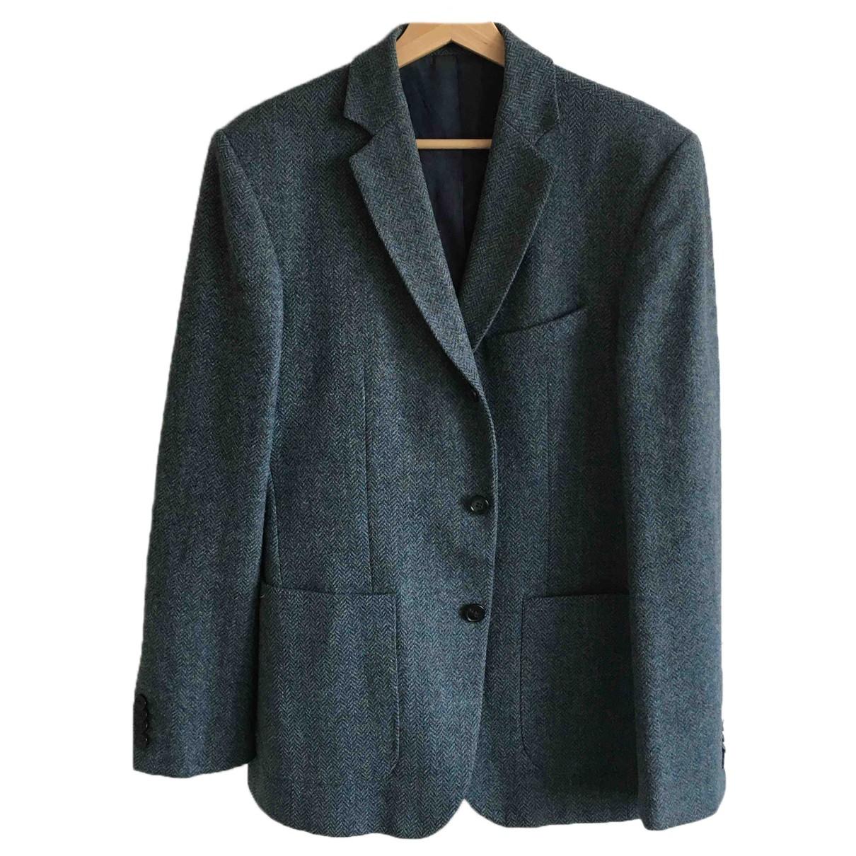 Reiss N Blue Wool jacket  for Men 38 UK - US