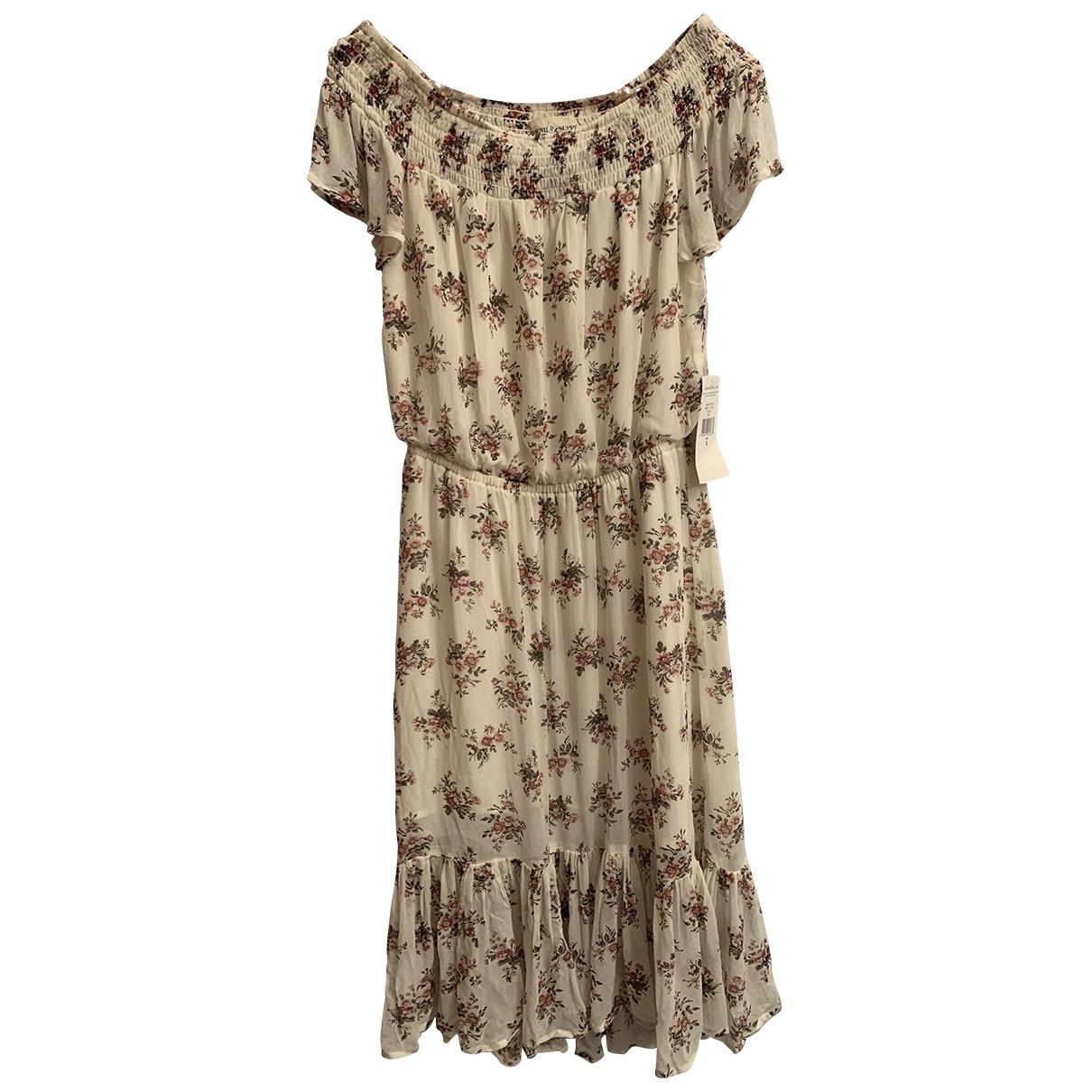 Ralph Lauren Denim & Supply \N Kleid in  Weiss Polyester