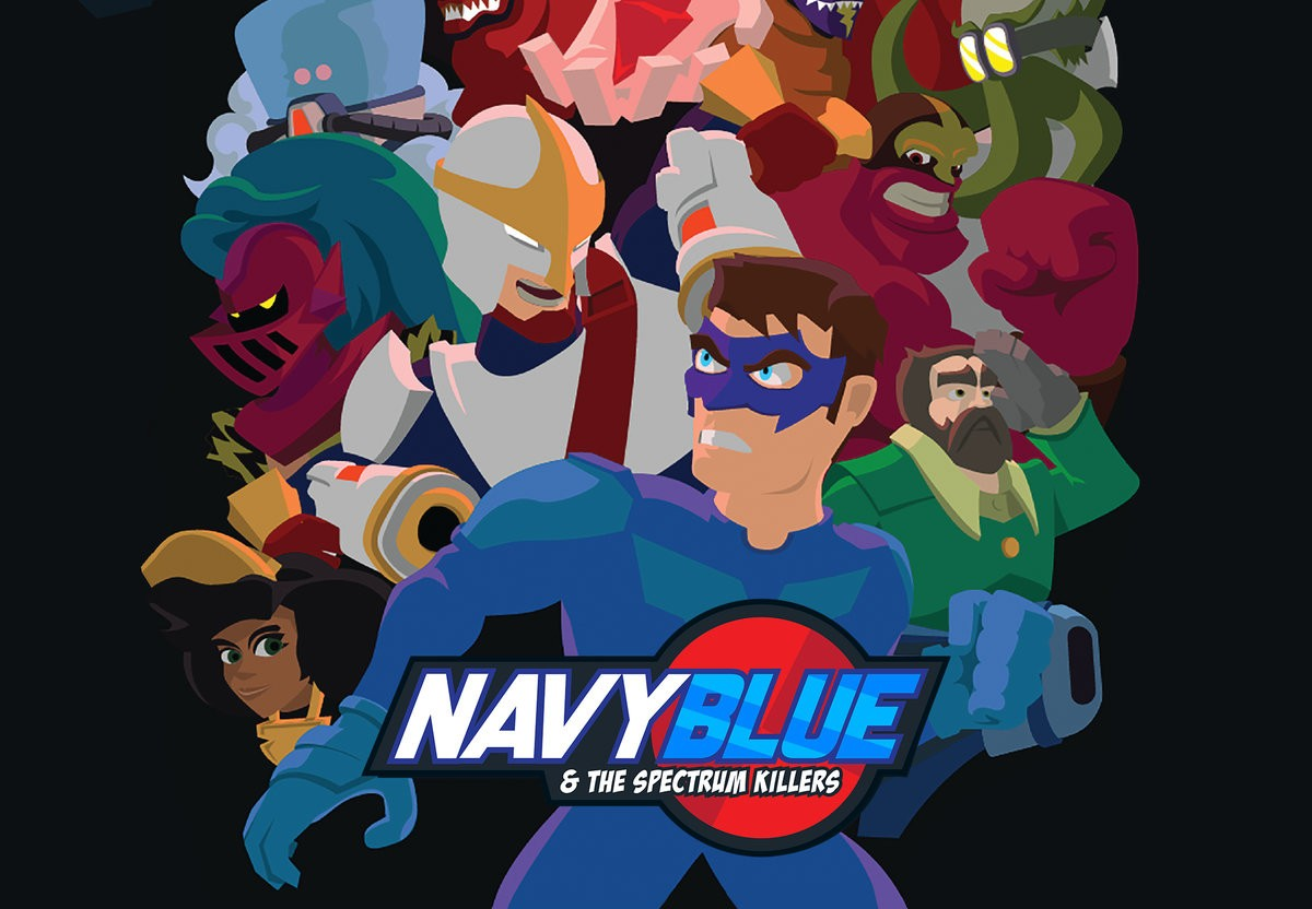Navyblue and the Spectrum Killers Steam CD Key
