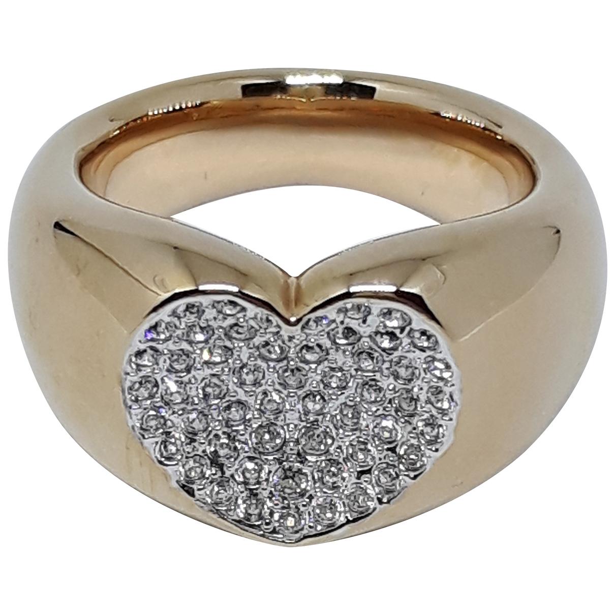 Swarovski \N Ring in  Gold Stahl