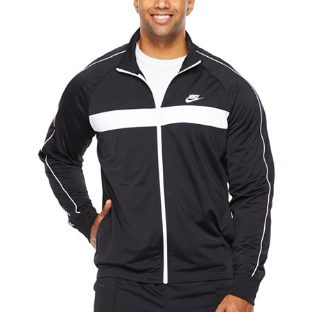 Nike-Big and Tall Mens Long Sleeve Embellished Hoodie, 4x-large , Black