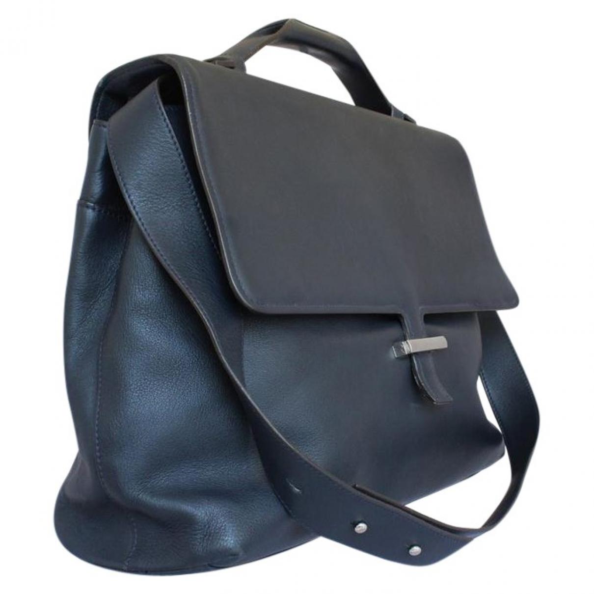 Fratelli Rossetti \N Taschen in  Blau Leder