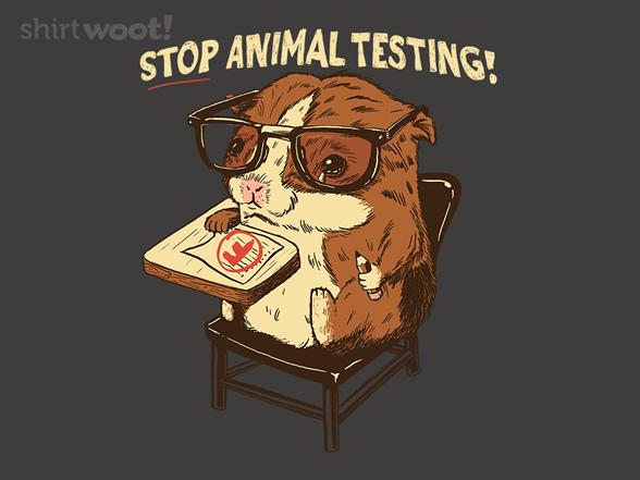 Stop Animal Testing T Shirt