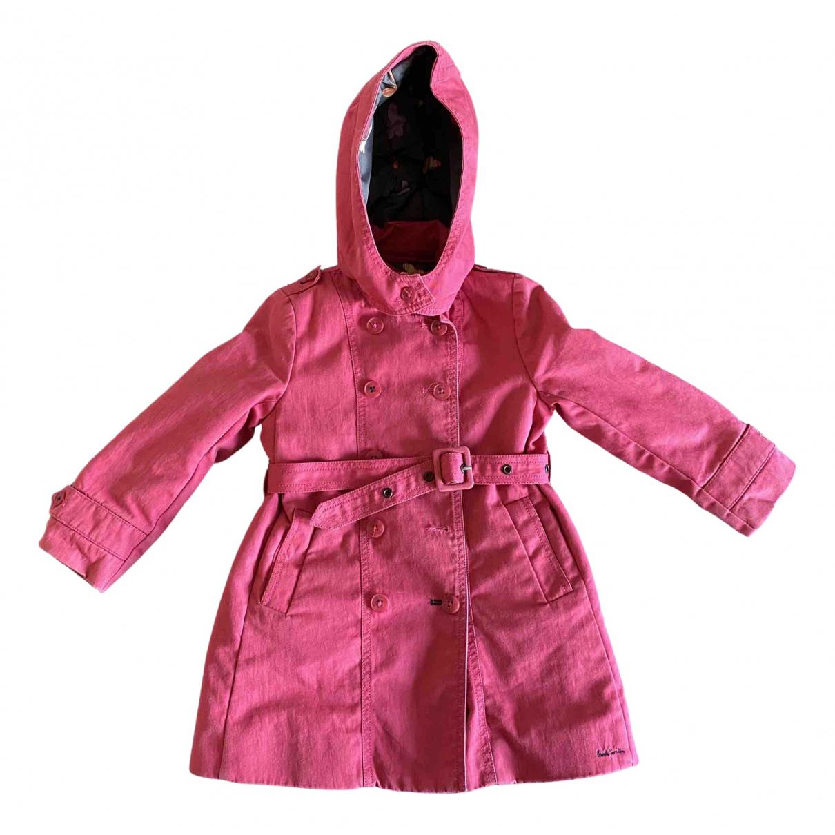Paul Smith - Blousons.Manteaux   pour enfant en coton - rose