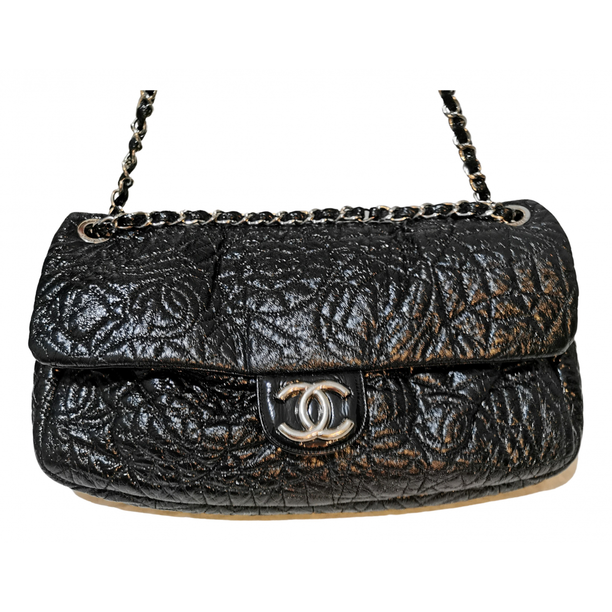 Chanel Timeless/Classique Black Patent leather handbag for Women N