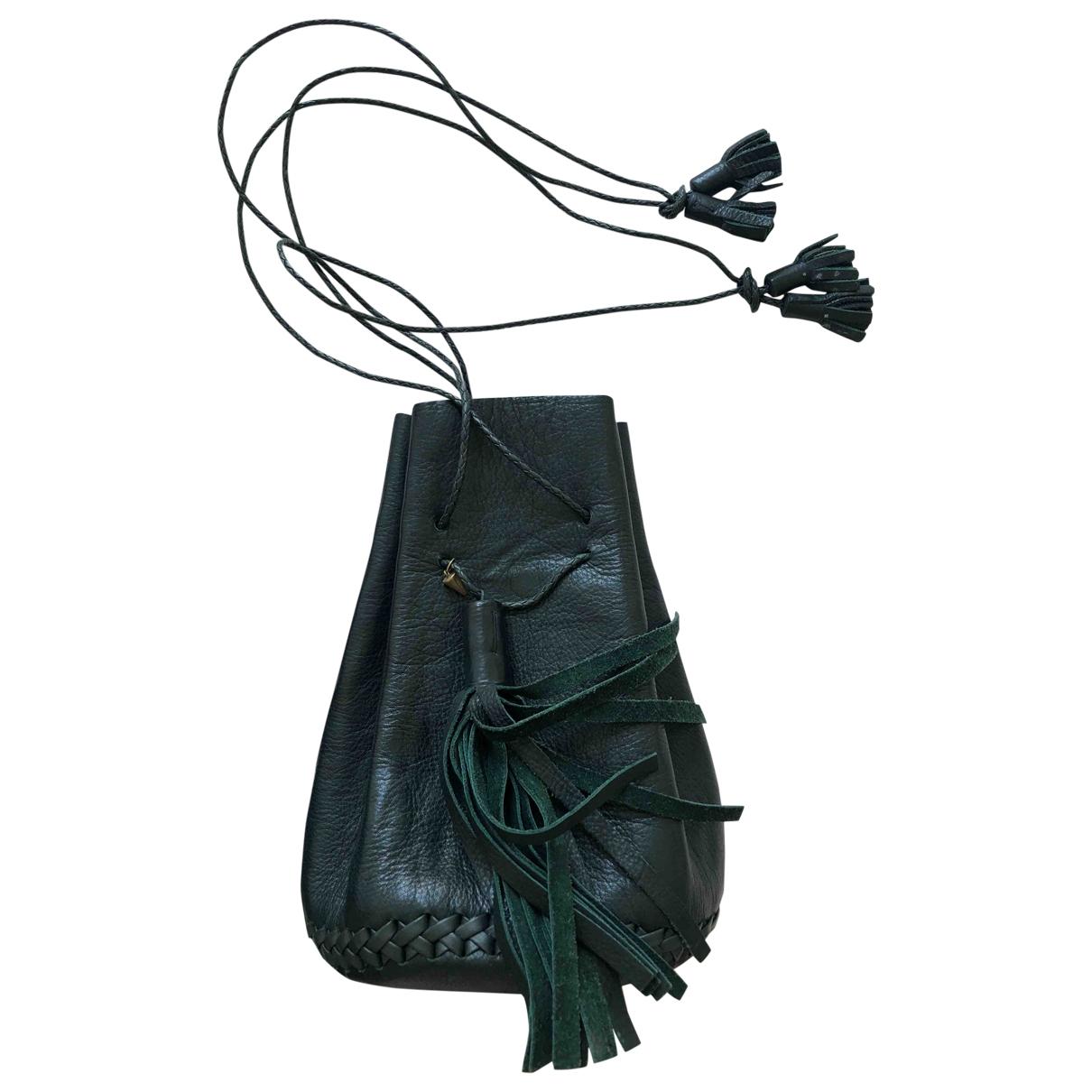 Wendy Nichol \N Handtasche in  Gruen Leder