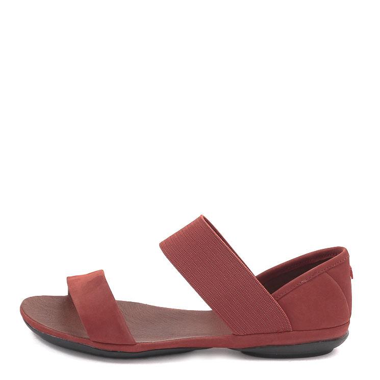 Camper, 21735 Right Nina Women's Sandals, dark red Größe 41