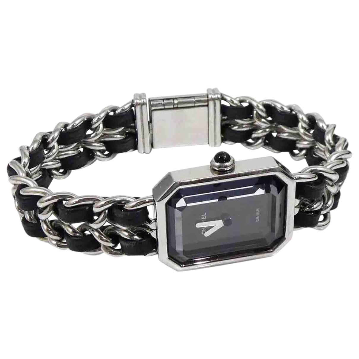 Chanel Premiere Uhr in  Silber Vermeil