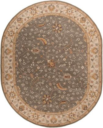 Caesar CAE-1093 8 x 10 Oval Traditional Rug in