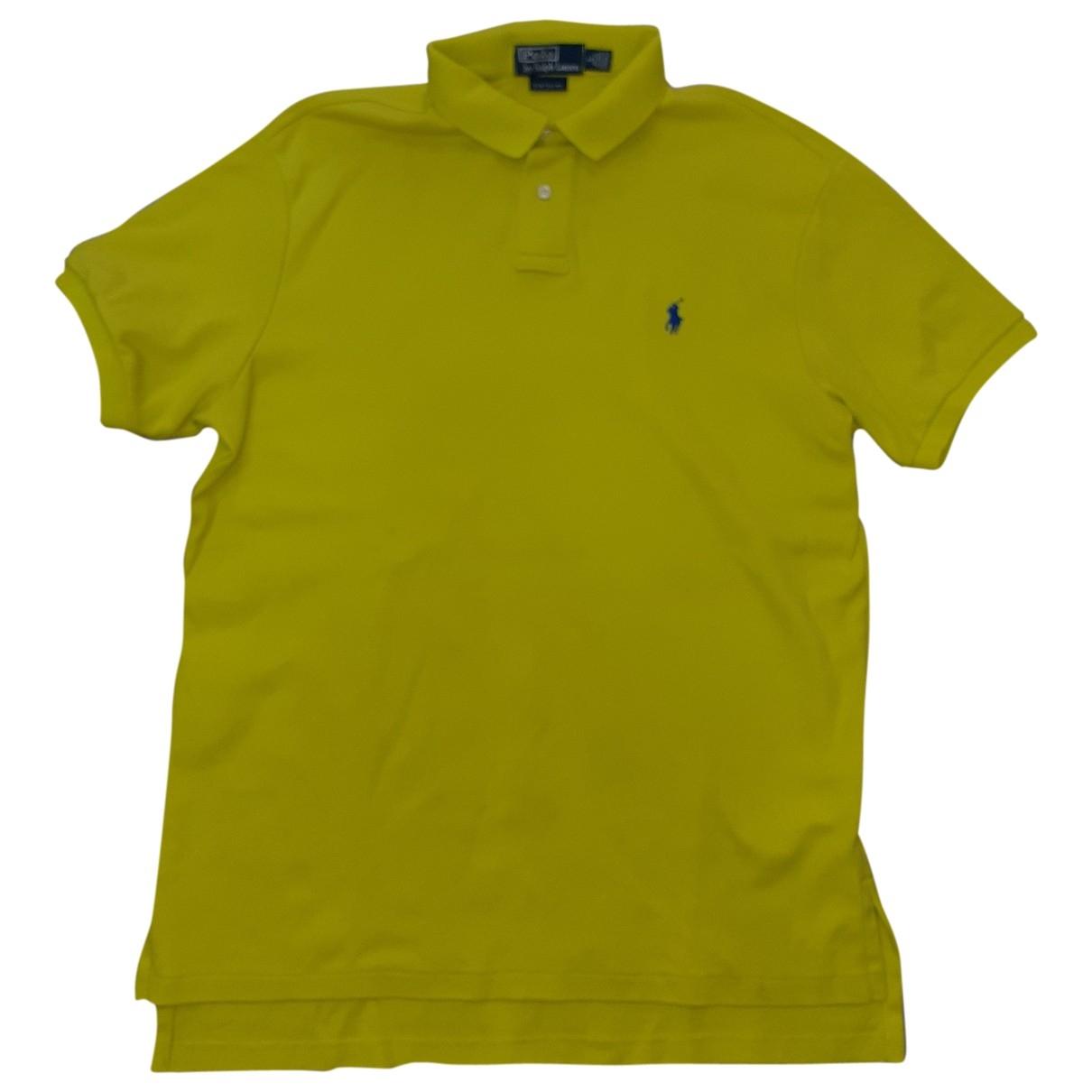 Polo Ralph Lauren \N Green Cotton Polo shirts for Men L International