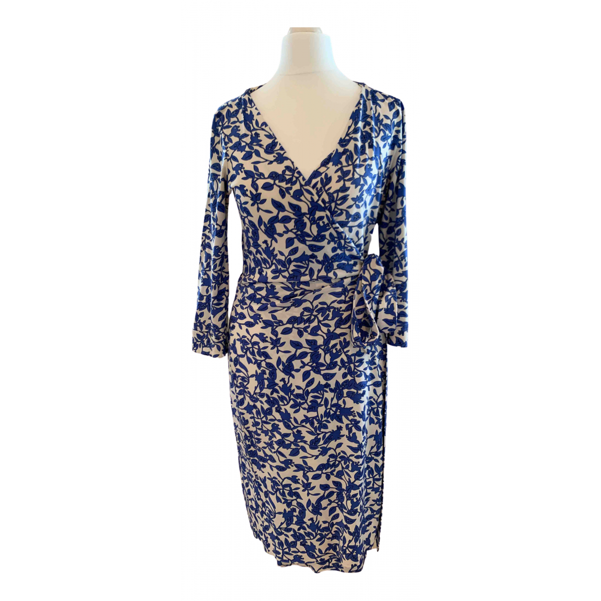 Diane Von Furstenberg \N Blue dress for Women 4 US