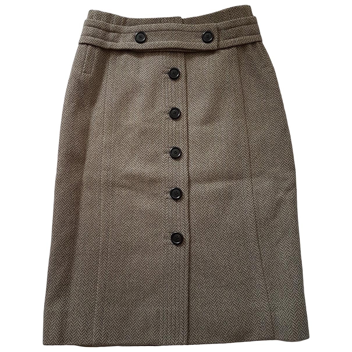 Louis Vuitton \N Rocke in  Braun Wolle