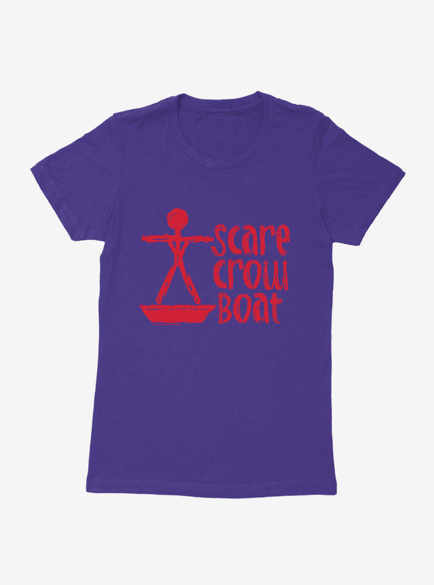 Parks And Recreation Scarecrow Boat Logo Womens T-Shirt