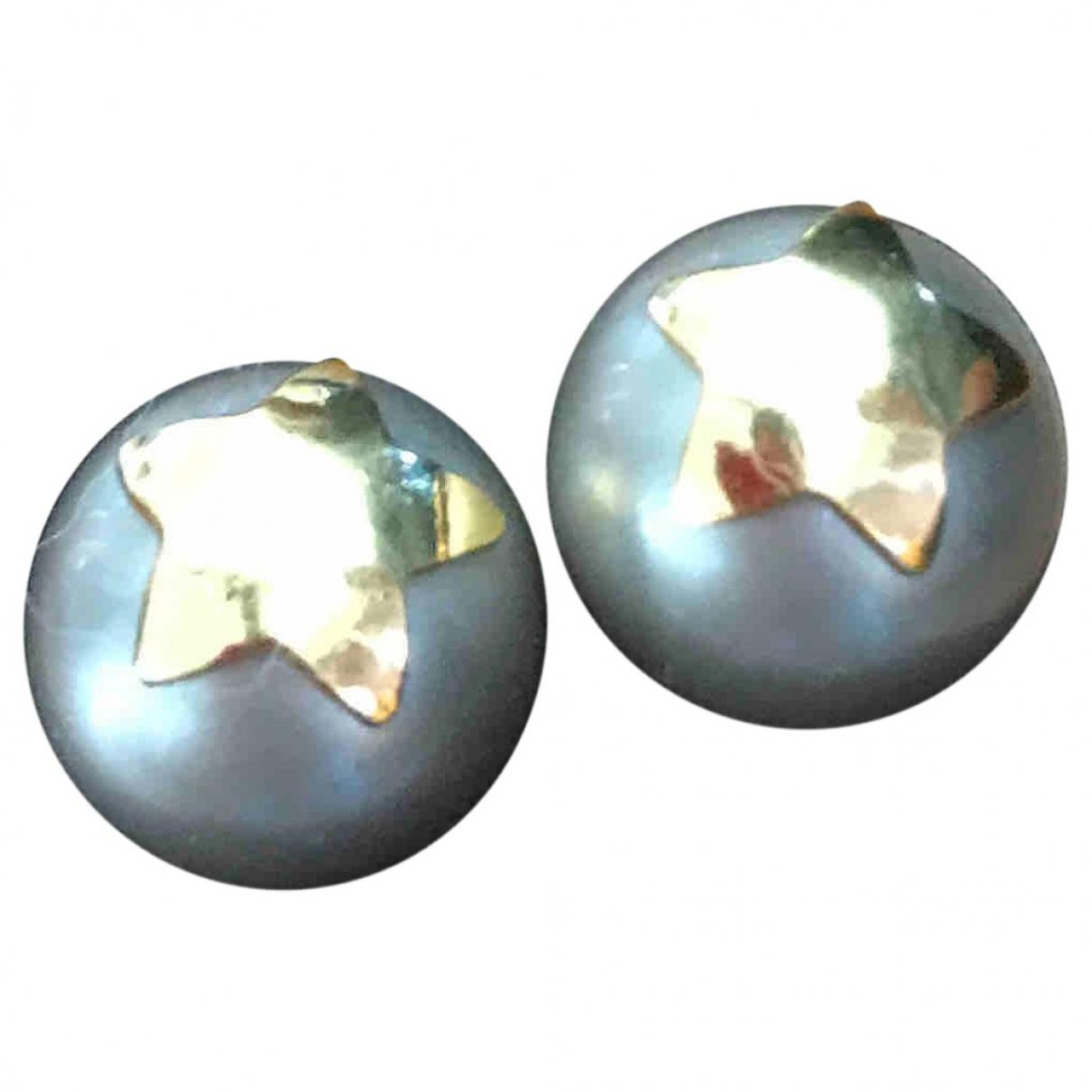 Reminiscence \N OhrRing in  Silber Perlen
